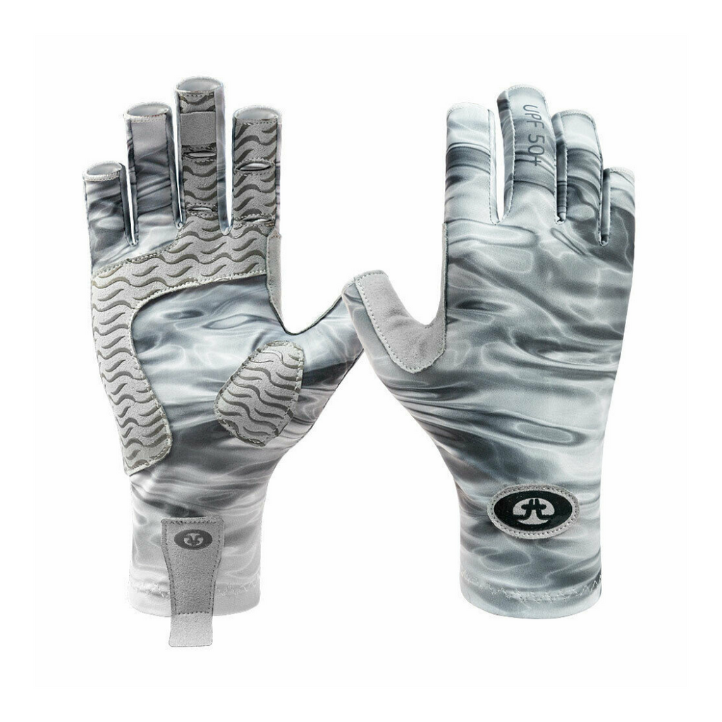 Flying Fisherman Guantes Pro Series Gris agua L/XL