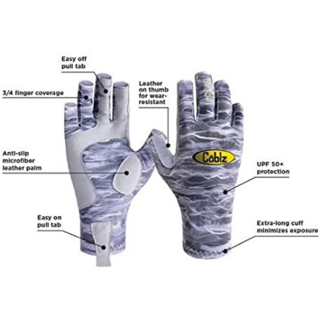 Cablz fishing Guantes S/M
