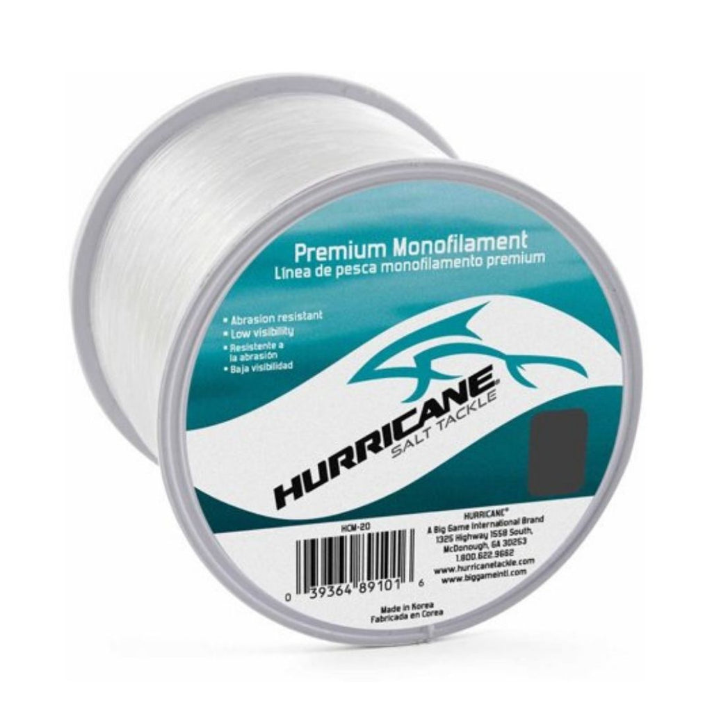 Hurricane Saltwater Monofilament Line 100 Lb/275 Yards