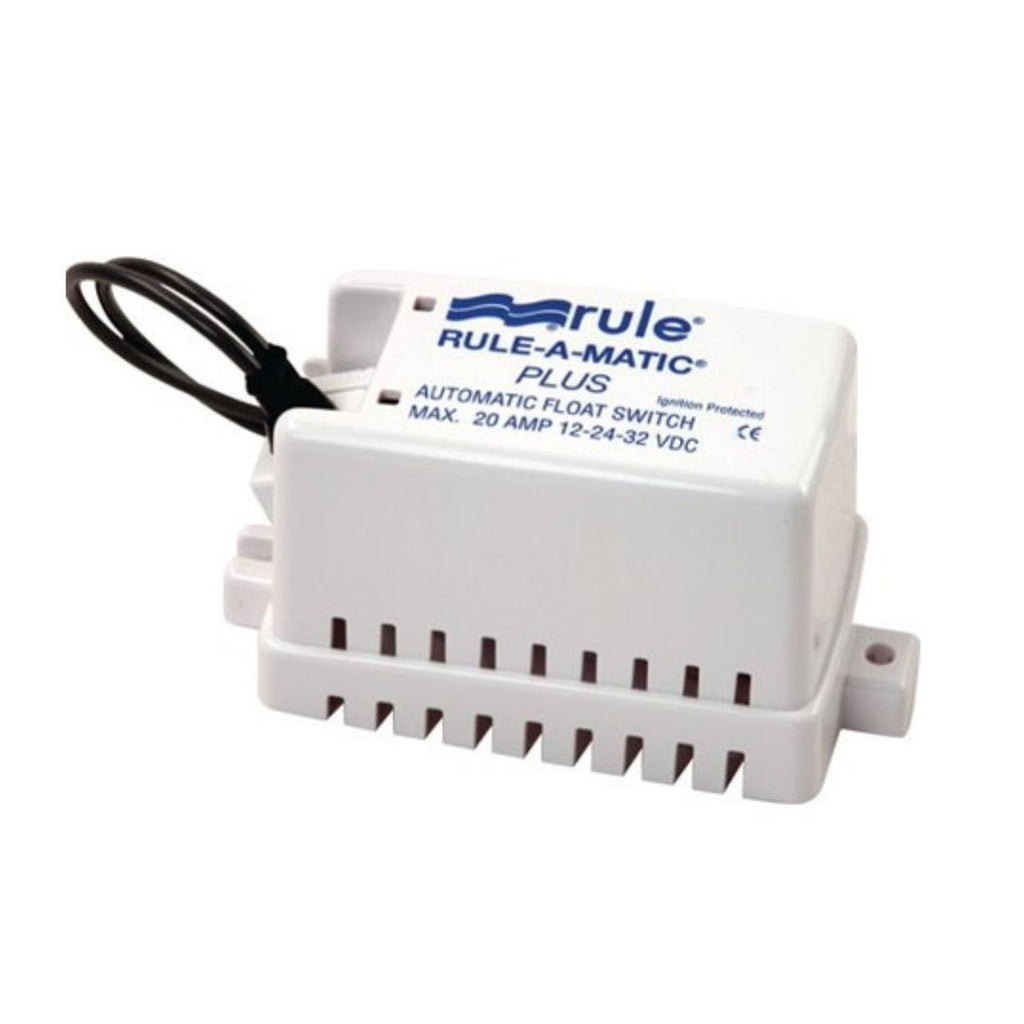 Rule 40A Interruptor de bomba de sentina Marine Rule-A-Matic Plus (sin mercurio)