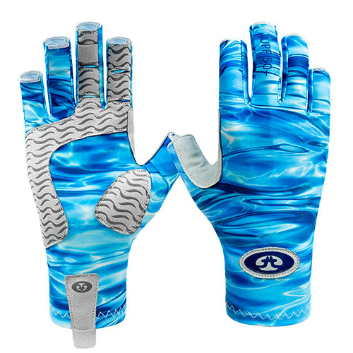 F. Fisherman Guantes Pro Series Blue Water S/M