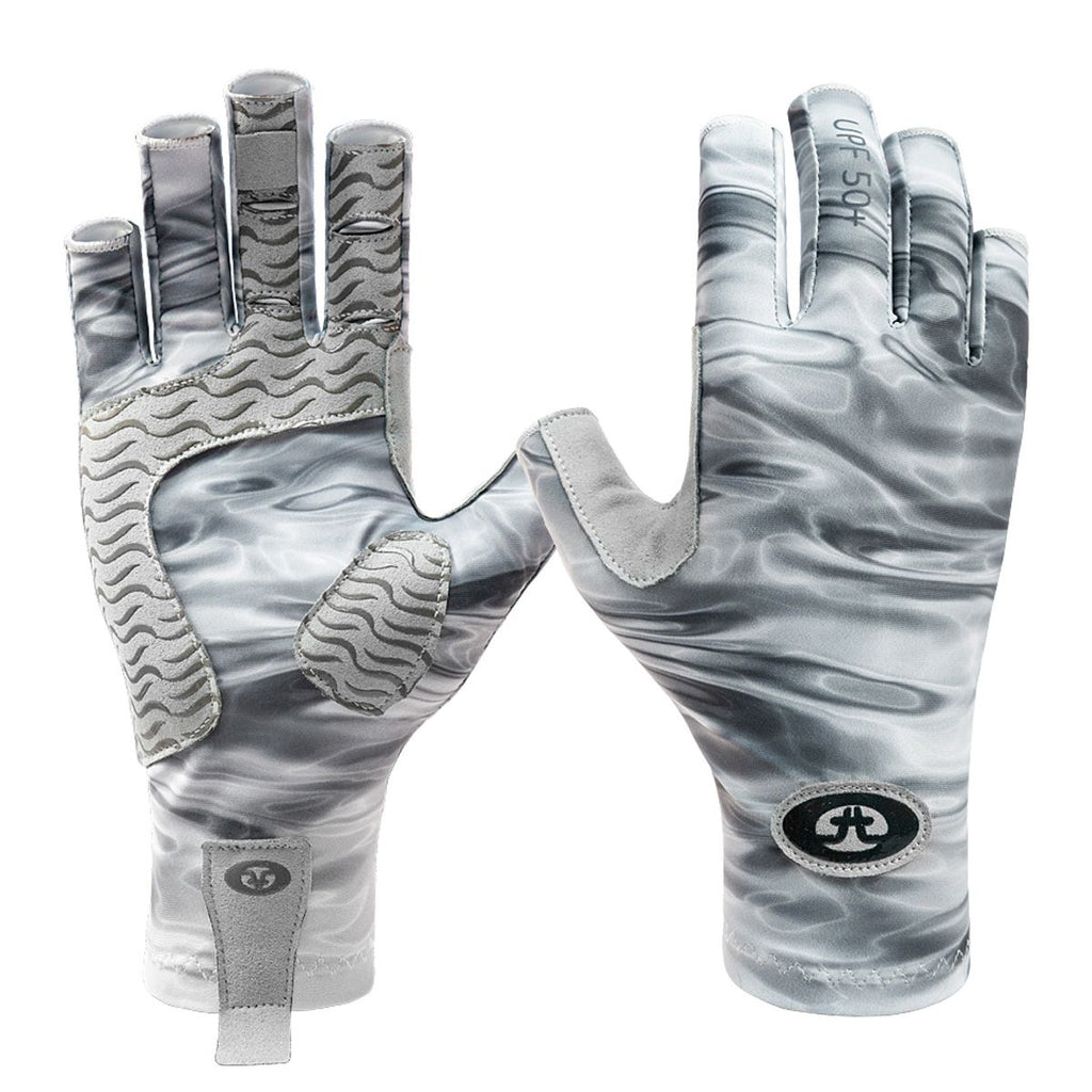 F. fisherman Guantes Pro Series Gray Water S/M