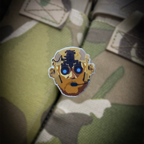 GWA G-Man Pin