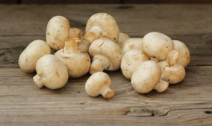 White Mushrooms Whole