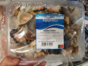 Shelfish, Fruits de Mer/ Mariscada (900 gms)