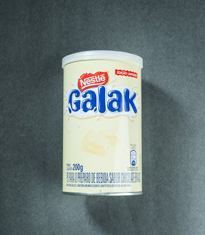 Galak - White Chocolate Flavor Drink Preparation Powder -Nestle- xx