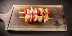 Chicken Shiskabobs, with vegetables