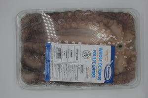 Whole Octopus - Cleaned & Tenderized