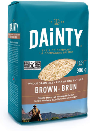 Brown Rice, Dainty (900 g)