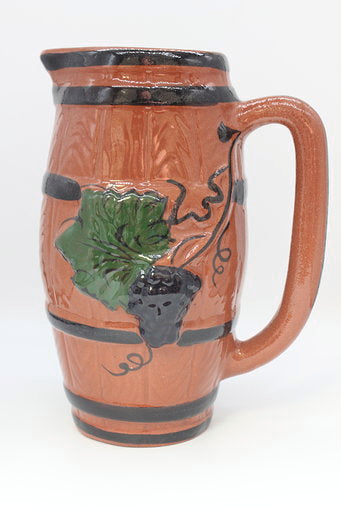 Wine Sangria Clay Pitcher