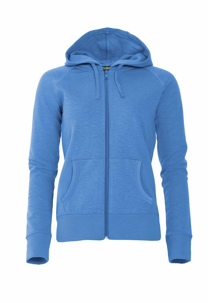 Clique Damen Sweatjacke Mit Kapuze 'Loris Ladies' - WERBE-WELT.SHOP