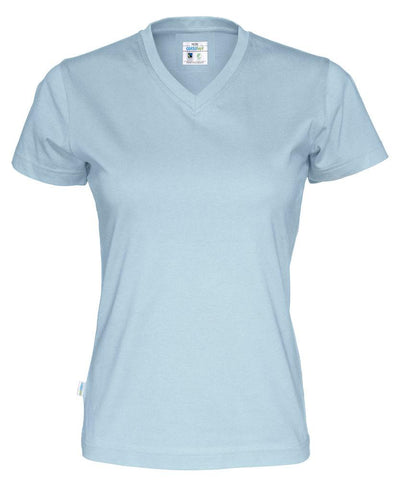 Cottover Damen T-Shirt mit V-Kragen, aus Fairtrade Baumwolle