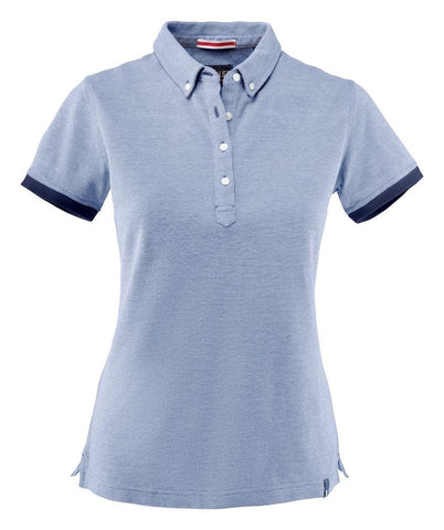 Larkford- Pique Shirt mit Button-Down-Kragen für Damen