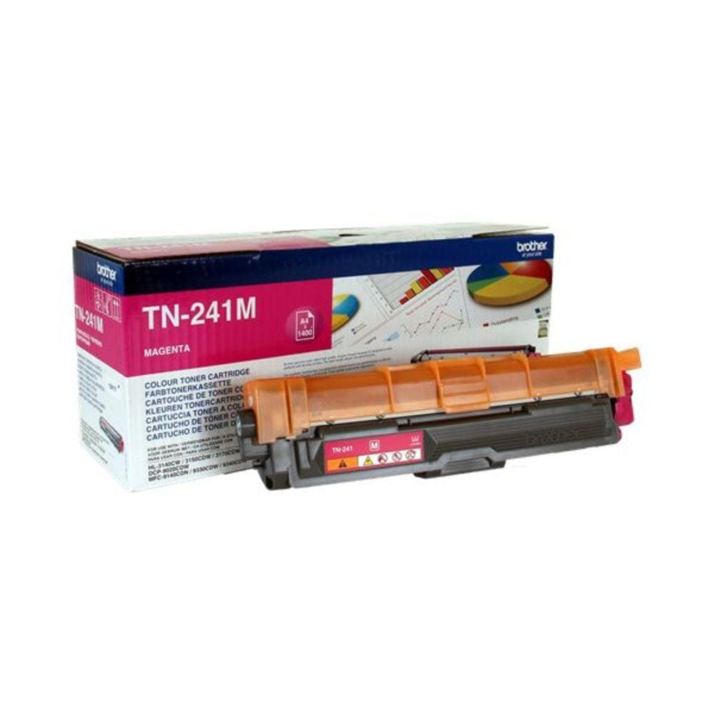 BROTHER Toner TN-241M, Magenta - WERBE-WELT.SHOP