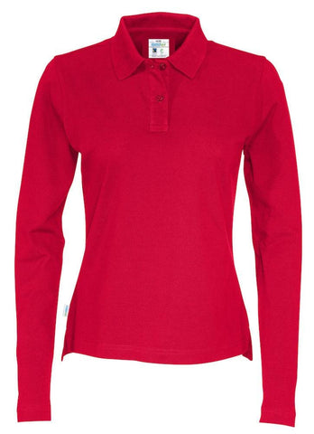 Pique Long Sleeve Lady