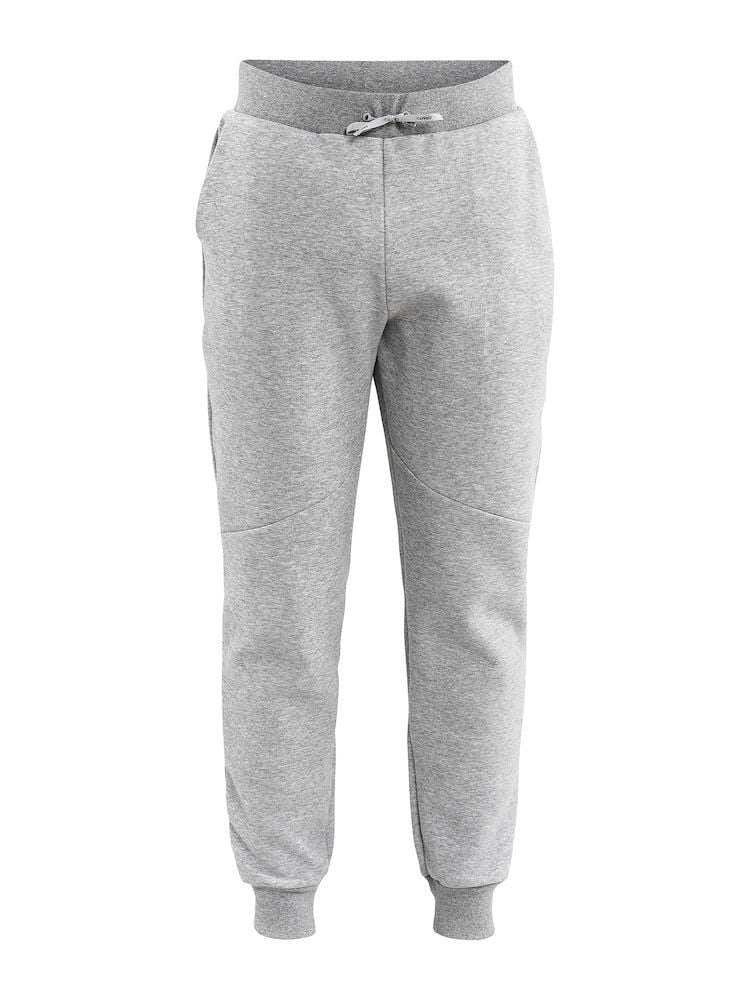 DISTRICT CROTCH SWEAT PANTS M GREY MELANGE 2XL