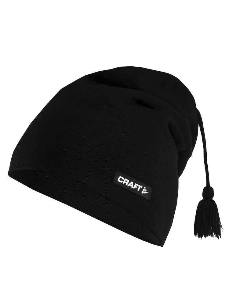 KNITED HAT BLACK ONE SIZE