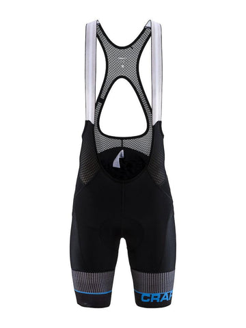 ROUTE BIB SHORTS MEN BLACK/HAVEN 2XL