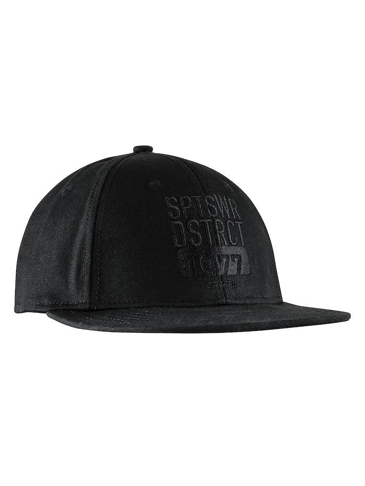 DISTRICT CAP BLACK L/XL