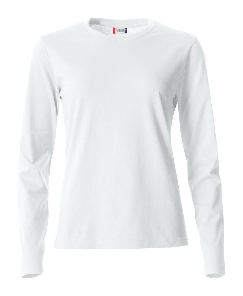 Clique Damen T-Shirt Langarm- Basic-T L/S Ladies