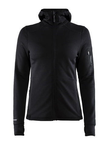 TRICT POLARTEC HOOD W BLACK 2XL
