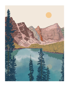 Banff (Lake Moraine)