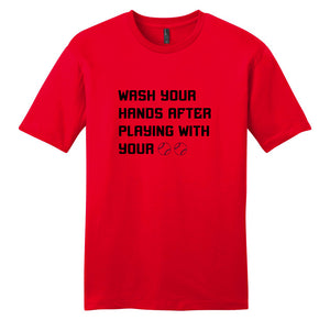 17 Baseball | Wash Your Hands T-Shirt