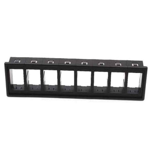 Rocker Switch 8 Gang Panel Housing Holder