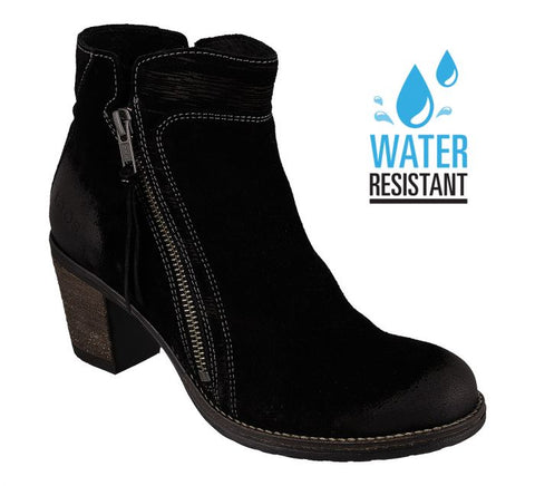 Taos Dillie Water Friendly Black Suede Boot