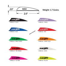 "Load image into Gallery viewer, AAE Wav 2"" Vanes - 50 pk"