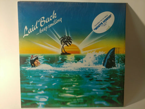 LP - Laid Back : ...Keep Smiling (1984) - (Orig. US Press, Shrink w/ Hyper) *NM*