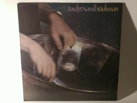 Andy Narell : Stickman (1981) - LP (Hip Pocket HP101) - *SIGNED* *NEAR MINT*