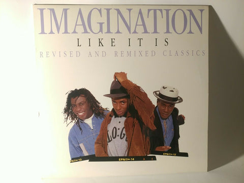 LP - Imagination : Like It Is (1989) - Orig. US Press, Comp. , 9929-1-R - *NM-*
