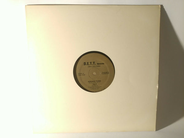 "TILT : Arkade Funk (1983) - 12"" Single (D.E.T.T. Records #TD001) *MINT*"