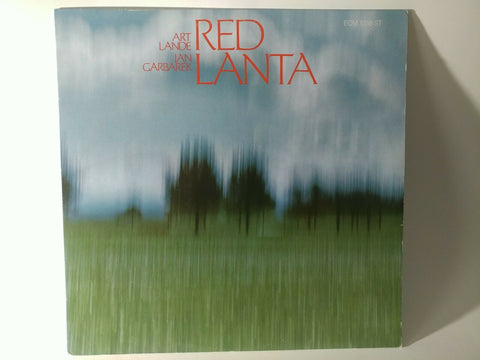 LP ~ Art Lande , Ian Garbarek : Red Lanta (1974) - Orig. US Press (ECM) *NM*