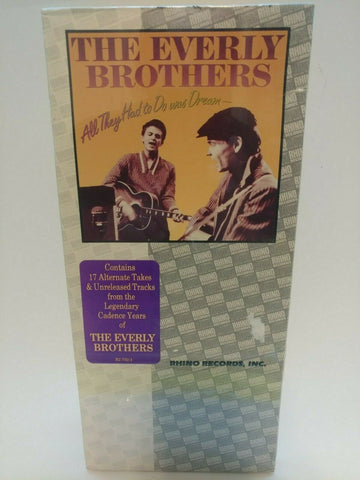 CD ~ The Everly Brothers : All They Had To Do Is Dream (1988) - *Sealed LongBox*