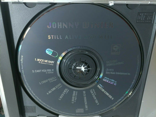 Johnny Winter : Still Alive and Well (1992) - Japan Import  - No OBI *MINT*