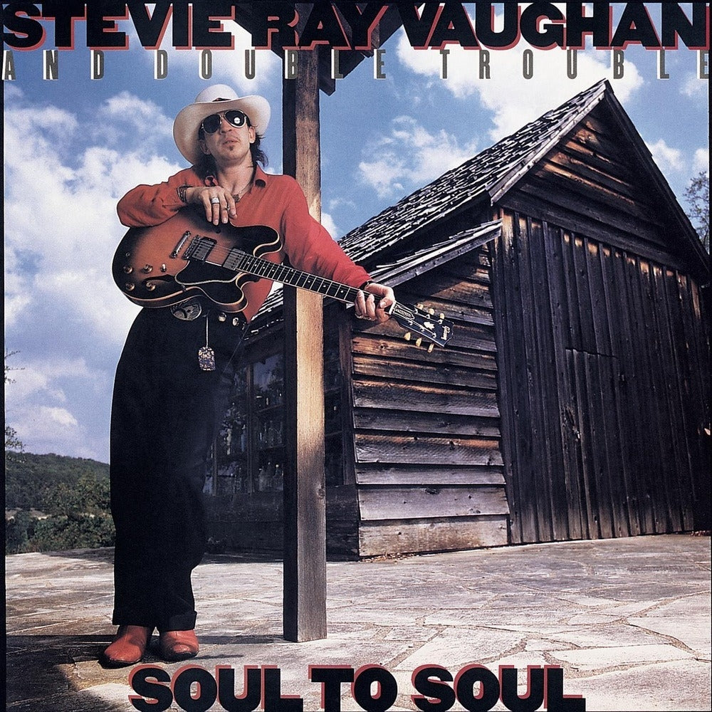 Stevie Ray Vaughan : Soul to Soul (1985) Early DADC Press ~NM-/NM