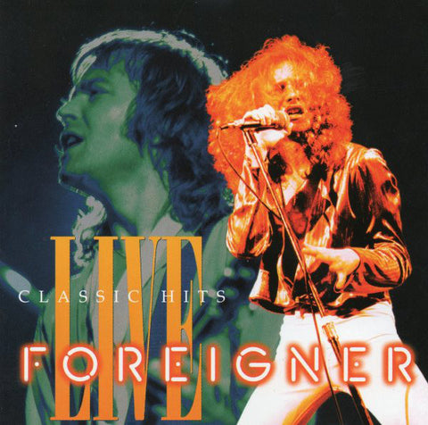 Foreigner : Classic Hits Live (1993) CD ~ Atlantic 82525-2 ~ *MINT*