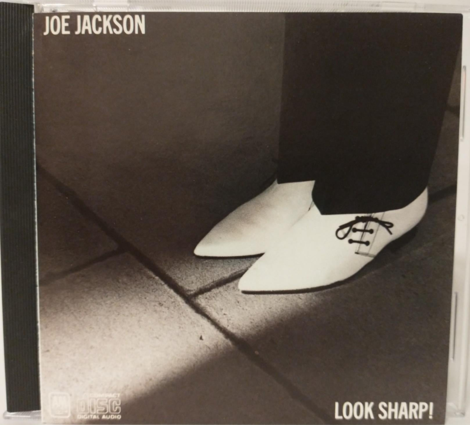 Joe Jackson : Look Sharp! (RI) A&M ~ CD3187 ~ Denon Japan for US Press ~ *MINT*