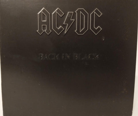 AC/DC : Back in Black (2003) Remaster ~ Embossed Tri- Fold Digipak ~ M/NM