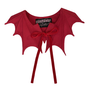 Bat Collar in Red