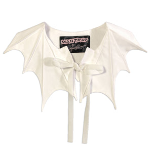 Bat Collar in White