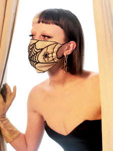 Spiderweb Mask