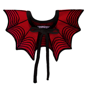 Red Spiderweb Collar