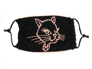 Reversible Kitty Logo Mask