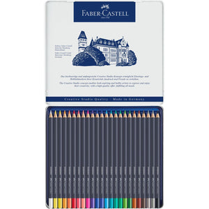 FABER-CASTELL GOLDFABER COLOUR PENCIL SET, 24