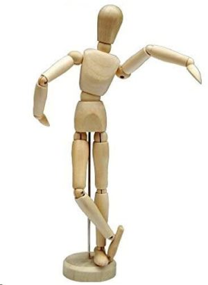 "Artist Drawing Mannequin Wooden 12"" Male"