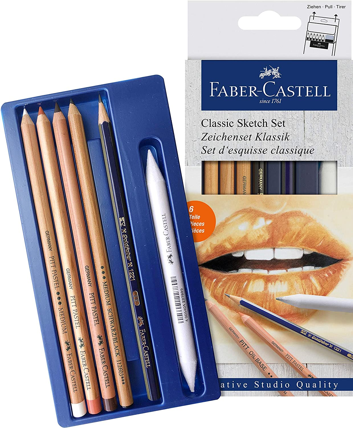 FABER-CASTELL CLASSIC SKETCH SET (BLUE)