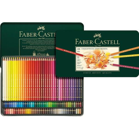 FABER-CASTELL POLYCHROMOS COLOURED PENCIL SET, 120